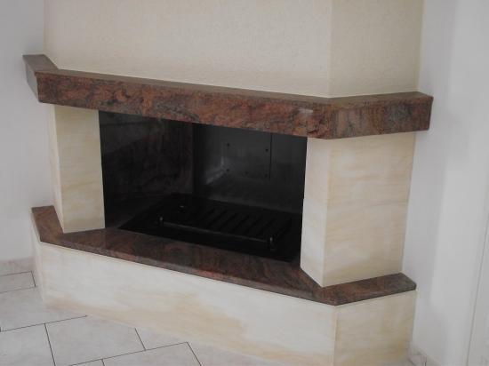 beautiful recuperateur de chaleur pour cheminee avec insert 2 double feu sur cheminee granit. Black Bedroom Furniture Sets. Home Design Ideas